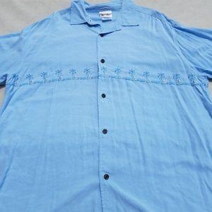 Walt Disney Hawaiian Button up Shirt